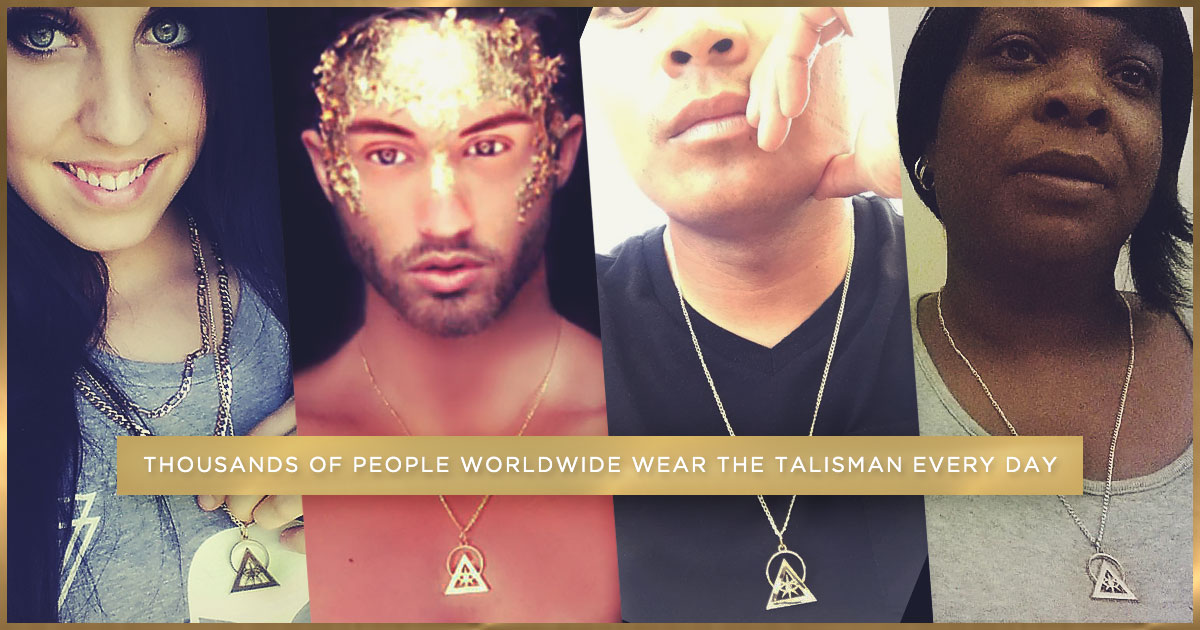 The Gold Illuminati Talisman
